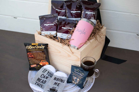 Coffee Birthday Box for Her | BrilliantGifts.com
