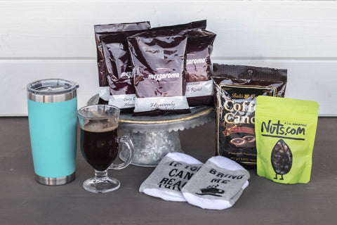 Coffee Gift Basket for Women | BrilliantGifts.com