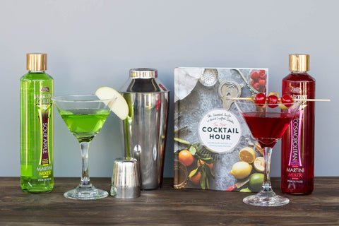 Martini Gift Set for Her | BrilliantGifts.com