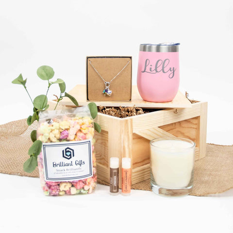 Mom Celebration Gift Crate | BrilliantGifts.com