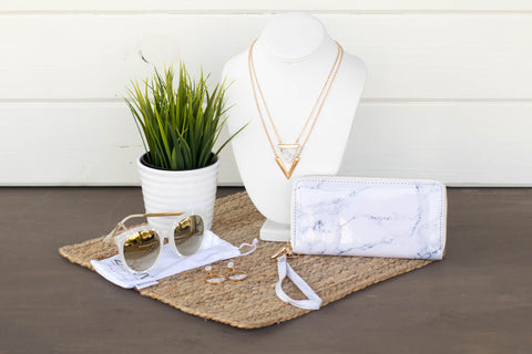 Marble Jewelry Gift Crate