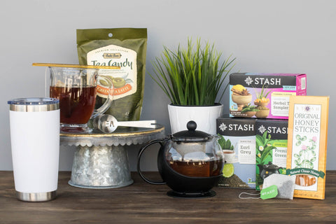 Tea Gift Crate for Women | BrilliantGifts.com