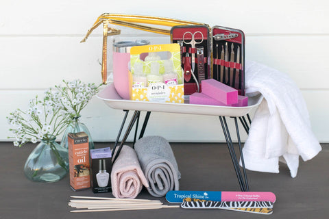 Manicure Gift Box for Teenage Girls | BrilliantGifts.com