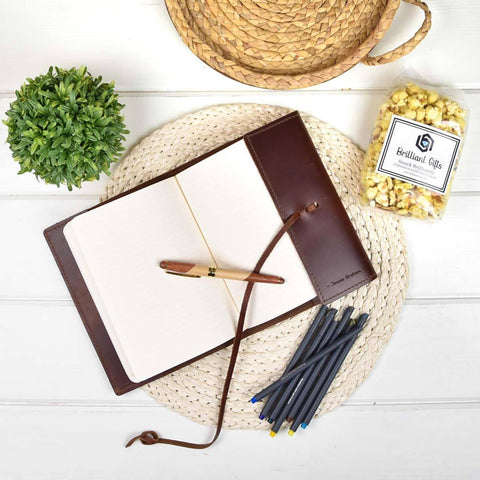 Personalized Journal Gift for Her | BrilliantGifts.com