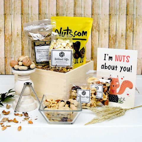 Nut Themed Gift Box | BrilliantGifts.com