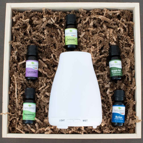 Essential Oils Gift Crate