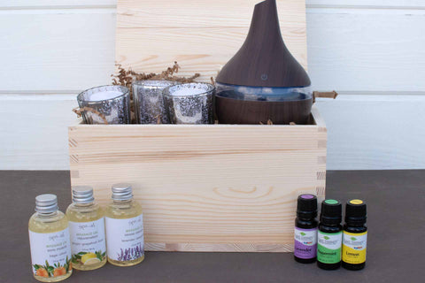 Relaxation Gift Basket for Women | BrilliantGifts.com