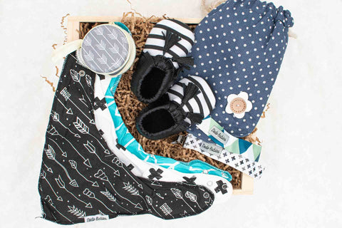 Baby Boy Gift Crate | BrilliantGifts.com