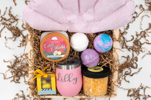 Bath Set Closing Gift | BrilliantGifts.com