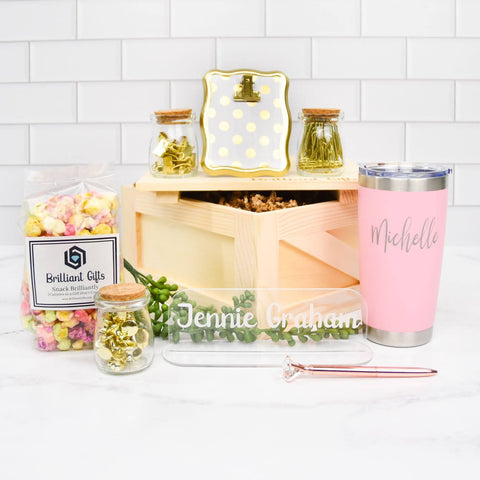 Office Gift Set For Her | BrilliantGifts.com