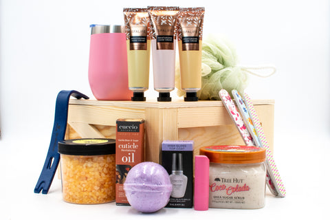 Spa Gifts in Sealed Crate |  BrilliantGifts.com