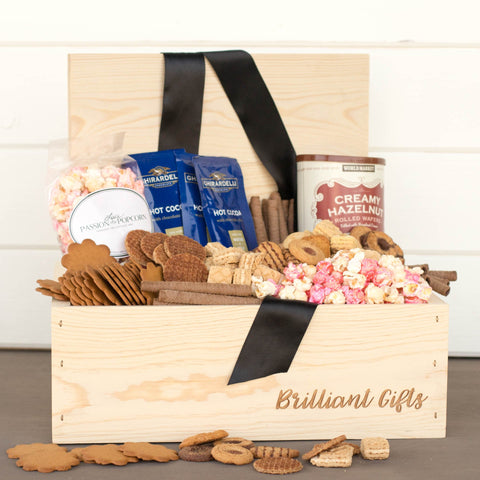 Cookie Gift Box for Moms | BrilliantGifts.com