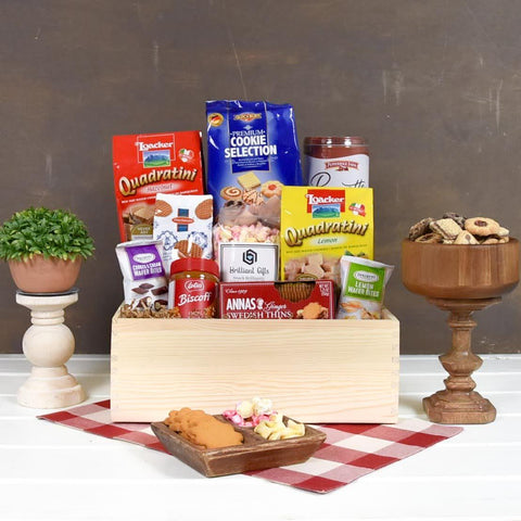 Cookie Gift Crate | BrilliantGifts.com