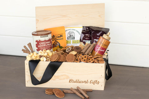 Snack Gift Basket | BrilliantGifts.com