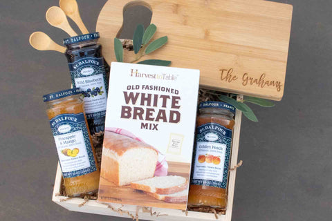 Bread and Jam Gift Basket | BrilliantGifts.com