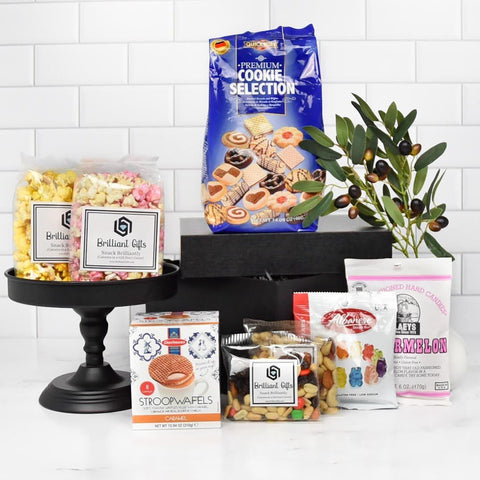 Snack Gift Crate | BrilliantGifts.com