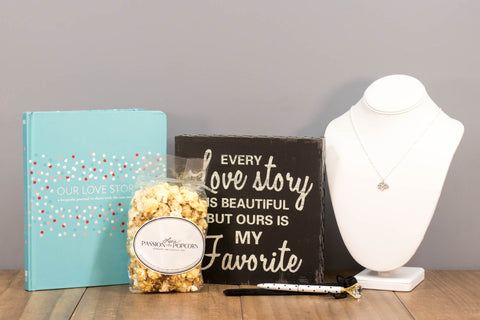 Couple Journal Wedding Gift Box | BrilliantGifts.com
