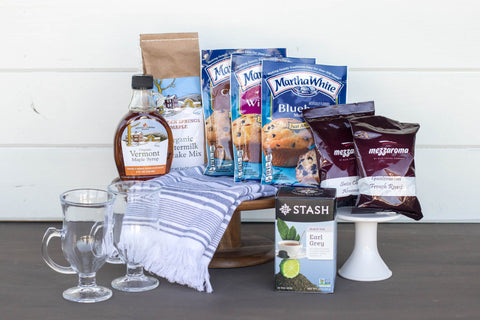Breakfast Gift Basket | BrilliantGifts.com