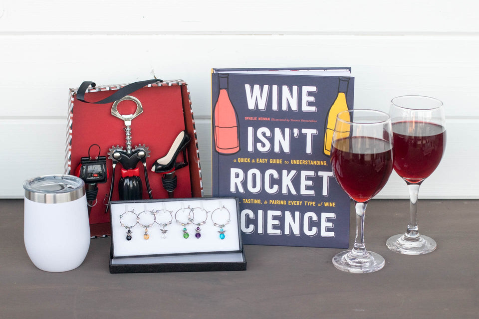 Wine Gift Set for Her | BrilliantGifts.com