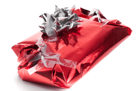 Poorly Wrapped GIft