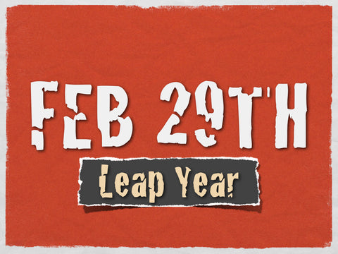Leap Day Gifts | BrilliantGifts.com