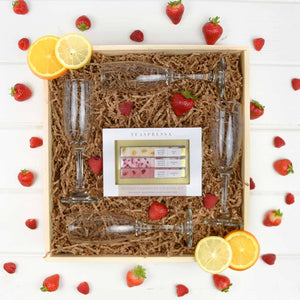 Mimosa Gift Box | BrilliantGifts.com