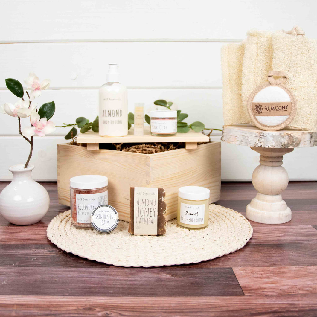 Spa Gift Crate | BrilliantGifts.com