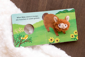 Llama Baby Book | BrilliantGifts.com
