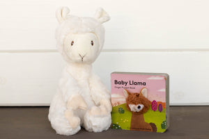 Baby Llama Stuffed Animal Gift | BrilliantGifts.com