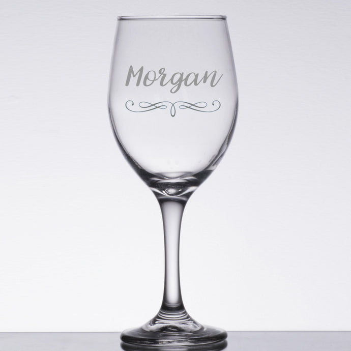 Engrave Wine Glasses