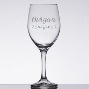 Personalized Wine Glass | BrilliantGifts.com