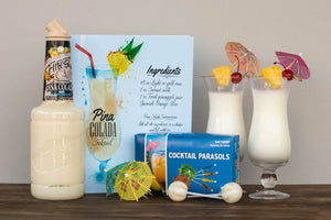 Pina Colada Gift Set | BrilliantGifts.com