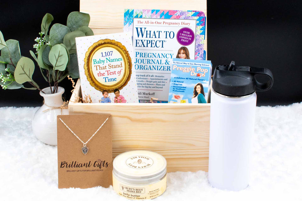 Pregnancy Gift Box | BrilliantGifts.com