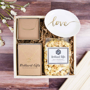 Gold Jewelry Gift Box | BrilliantGifts.com