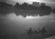 Aeron Denver Delos Reyes Fishing In The River - Print - Street Photography