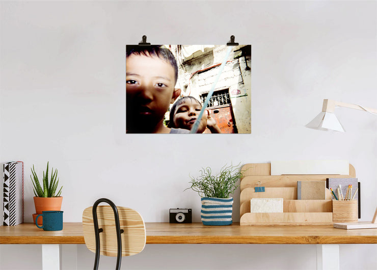 Alexander Gabriel Galupo A Friend's Selfie - Print Poster DinA3 - A Life In Colours