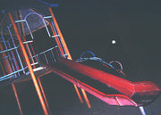 Christopher Topher Castro - The Red Slide - Print - Project Hidden Places