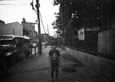 Dominic G. Villamin Jr. Boy On The Street - Print - Street Photography
