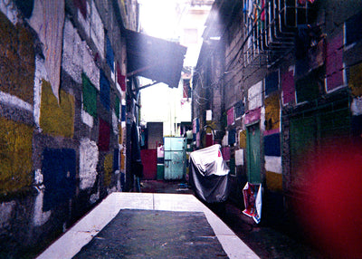 Terienz Adrien A. Rivas Colored Walls - Print - Street Photography