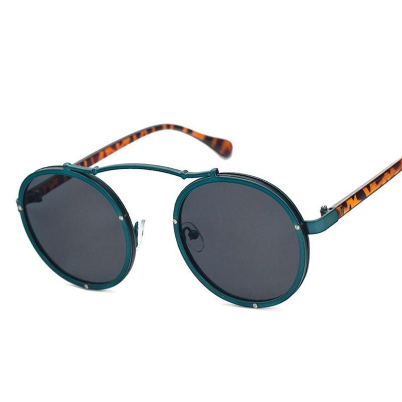 Quadro Matte Popular Round Sunglasses