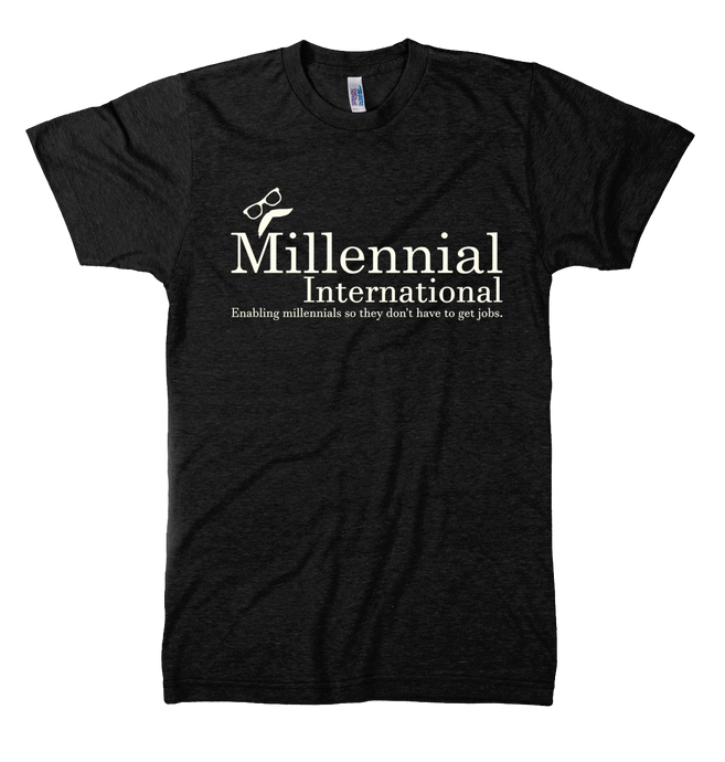 Millennial International Tee