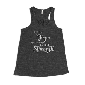 Joy of Other's Weaknesses Ladies Tank Top