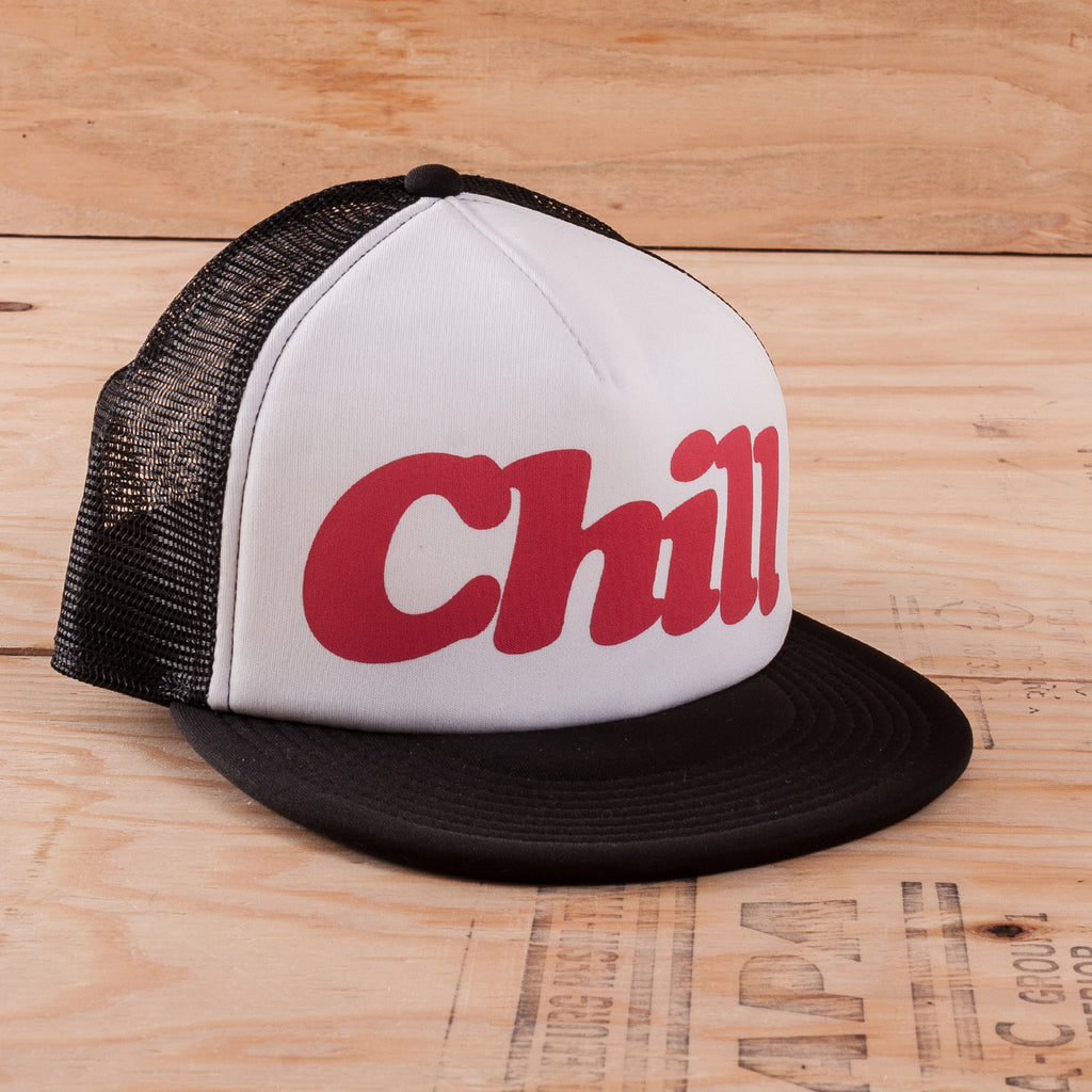 Chill - Trucker Hat - White/Black