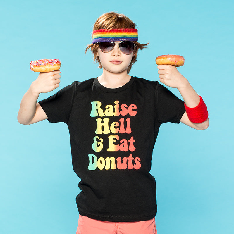 Raise Hell & Eat Donuts | Youth Tee
