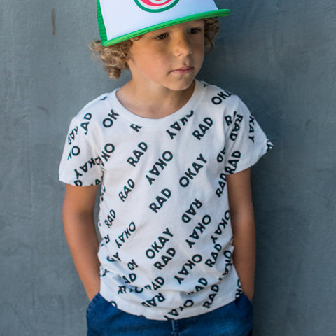 Okay Rad | Youth Tee