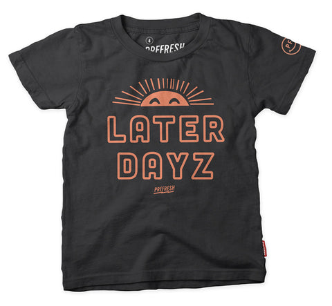 Later Dayz - SS Tee - Vintage Black