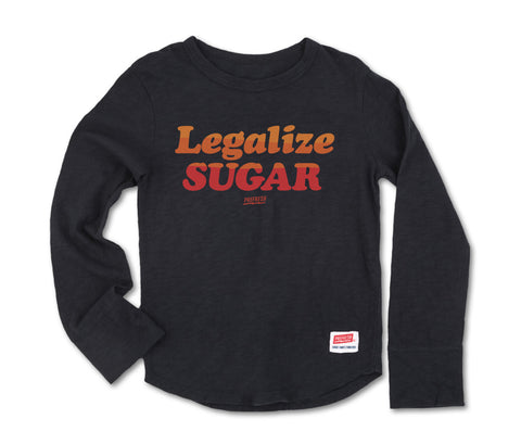 Legalize Sugar - Long Sleeve Graphite