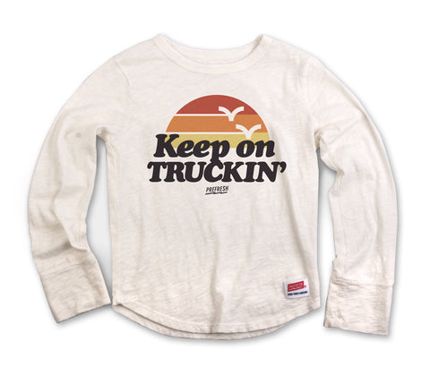 Keep On Truckin - Long Sleeve Natural