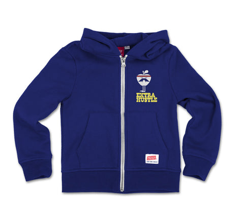 Extra Hustle - Zip Fleece Sweatshirt
