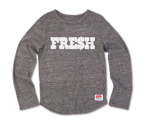 FRE$H - Long Sleeve Grey